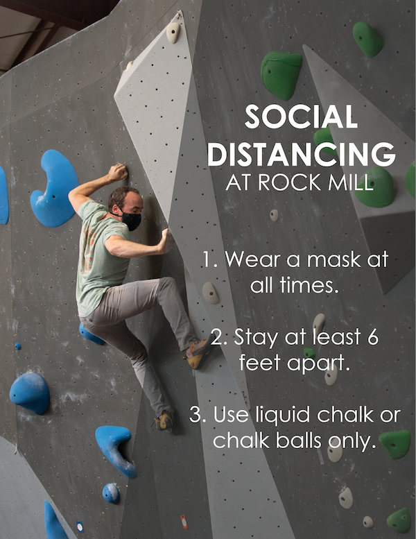 Social Distancing at Rock Mill