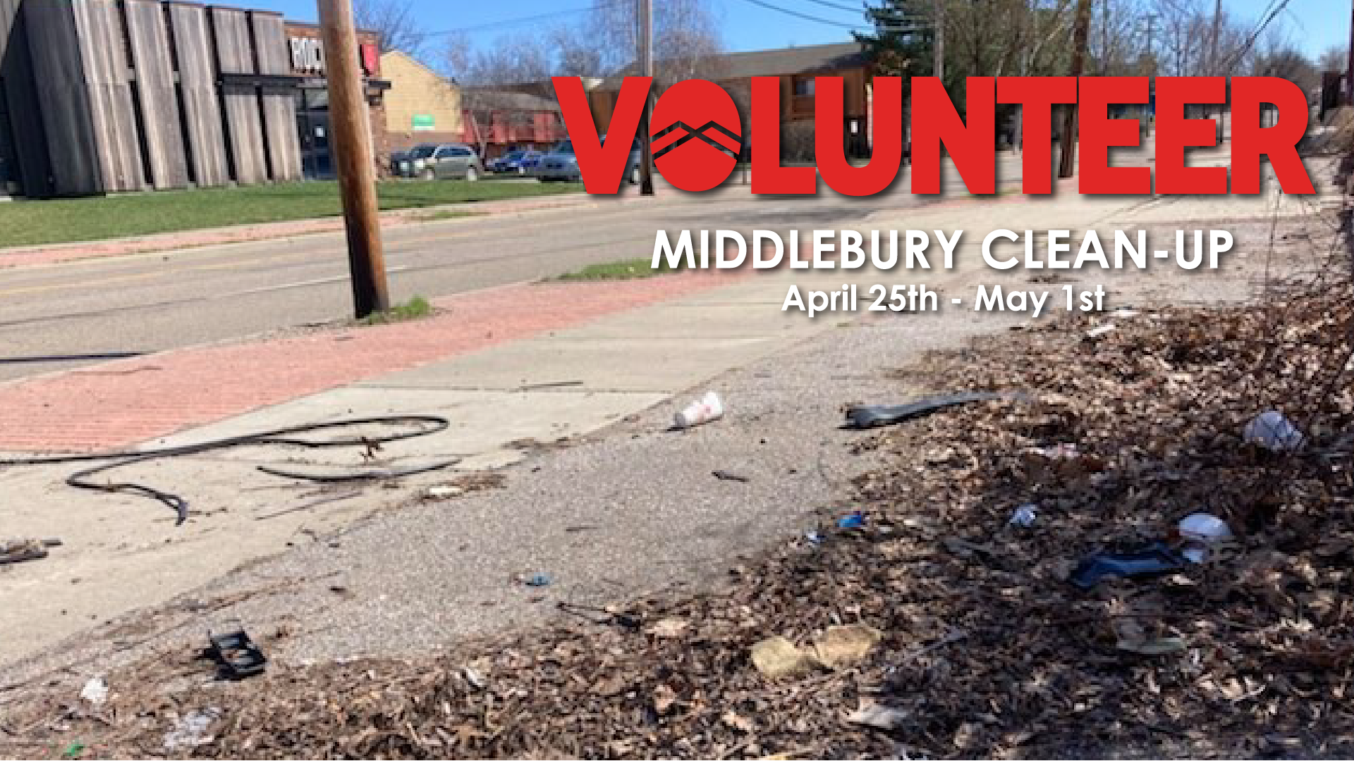 Rock Mill Middlebury Clean-up Event